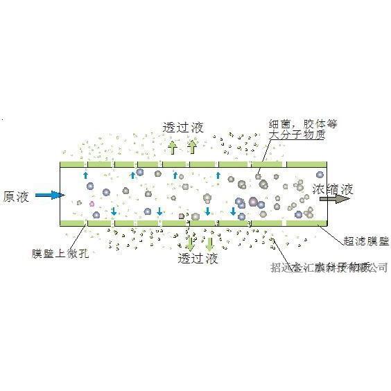 金汇超滤膜技术简介-过滤原理
