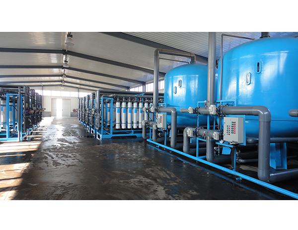印染厂中水回用超滤项目